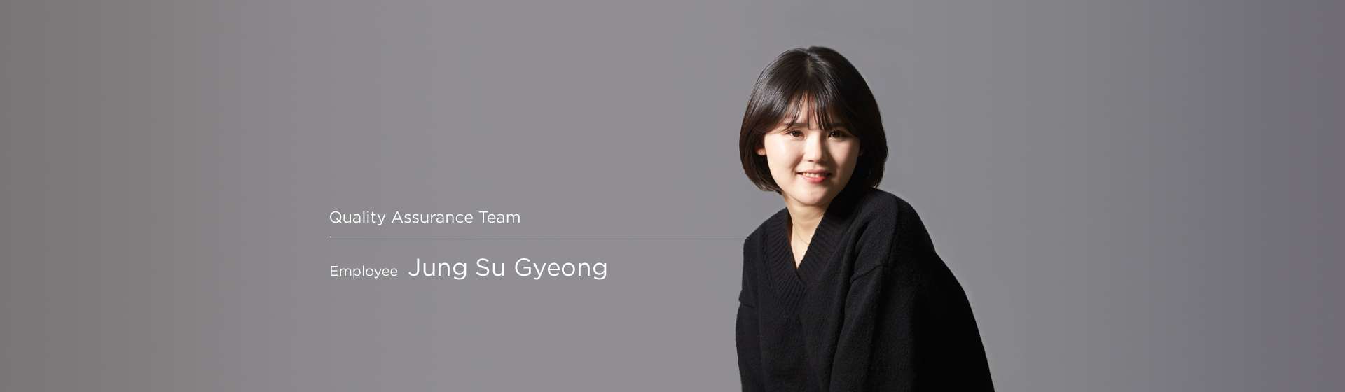 Quality Assurance - Sukyoung jung