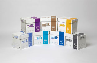 Observing the renewal of Hankuk Paper representative brand, miilk