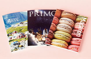 Introduction of Hankuk Paper's 3 types of brochure for printing paper